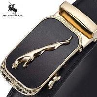 Ремень jifanpaul мужской талию ремешок дизайнер мужской роскошный человек модный бренд для мужчин высокое качество автоматическая пряжка 0930