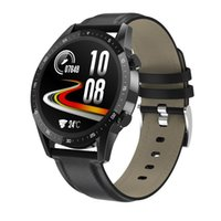 T30 Smart Watch Men Uomo Fitness Tracker Blood Pressure Frequenza cardiaca Monitor Smart Phone SmartWatch IP67 Impermeabile Touch Screen completo