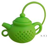إبريق الشاي الإبداعي شاي مصفاة سيليكون الشاي حقيبة ليف تصفية الناشر تقني إبريق الشاي التبعي أدوات المطبخ أدوات الشاي FWF5210