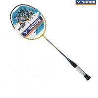 100% Orijinal Victor TK-8199 / TK-8299full Karbon Badminton Raket Raquette Badminton Hediye ile