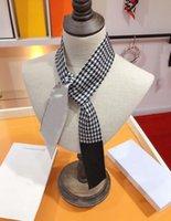 Foulard de soie designer Foulards Foulards à main Sac à main Décoration Ruban Hommes et femmes bandeau 120 * 7cm