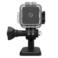 Mini cámaras DVR Detección de movimiento 16GB infrarrojo impermeable impermeable 1080p DV grabadora de video SQ12 HD Visión nocturna Deporte acción de acción