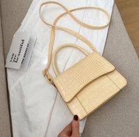 HBP 2021 الفاخرة مصمم تمساح نمط حقيبة يد السيدات ماركة الأزياء الأصلية حقائب الكتف رسول حقائب