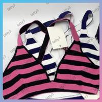 20 Designer di alta qualità Bikini Suits Lettere di modo Stampato Donne Costumi da bagno Kinting Vita Elastico Donne Bikini Set da donna Swimsuits