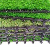 Может быть сращенный искусственный газон 30см * 30см экологически чистый пластик портативный домашний сад украшения зеленый ковер Turf ZZE5161