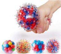 DNA SPRIST STRESS BALL SQUERS Cor sensorial brinquedo aliviar a tensão Home Viagem andfree Office Use diversão para crianças adultos FY9409