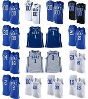 Duque Blue Devils Jerseys Matthew Hurt Jersey Tre Jones Wendell Moore Jr. O'Connell Robinson College Basketball Jerseys Mens Costume Costume