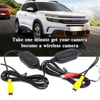 Vue arrière de la voiture Caméras Capteurs de stationnement Caméra WIFI WIFI WIFO 2.4GHz DC 12V Transmetteur / récepteur Kit 2021 2.4G Récepteur de transmetteur vidéo
