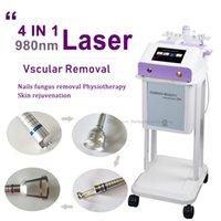 Remoção de veia de aranha fracionária nas pernas 980nm diodo laser varicose máquina de fisioterapia de cirurgia para relevo a dor