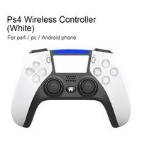ضفدع البيانات اللاسلكية بلوتوث لعبة تحكم ل ps4 وحدة تحكم لعبة gamepad لبلاي ستيشن 4 مزدوج الاهتزاز المقود للكمبيوتر / iOS C0127