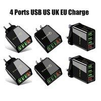Hight Quality Quick Charge 3.0 4.0 USB зарядное устройство 3.1A быстрый настенный мобильный телефон для 4 портов адаптера QC зарядное устройство