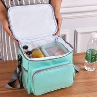 Sacos de Armazenamento Insulados Bolsas Refrigerador Térmico Piquenique Almoço De Almoço De Transporte Ao Ar Livre Portátil Portátil