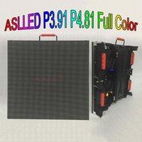 Pantalla P3.91 Pantalla de matriz LED interior TV de 500x500mm Mueble de aluminio fundido a presión P4.81 Muestra a todo color Boardsign Shenzhen Store