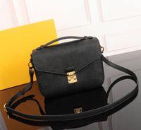 2021 Fahion Designer Mulheres Mulheres Bolsas Cross Body Messenger Bag Brown letra saco de alta qualidade Pequena alça do vintage Bolsa de ombro Free Shippin