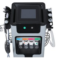 New arrival skin clean lift rejuvenation Multi-function Microdermoabrasion facial 9 in 1 SkinCare Water Grinding H2O2 Bubbles Cleaning Hydrafacial Machine