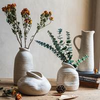 Vasen retro keramik vase chinesische stil home room dekor nordique dekoration maison kleine ornamente da60hp
