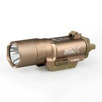 뜨거운 판매 새로운 전술 손전등 SF 스타일 x300 울트라 LED 무기 빛 촬영을위한 사냥을 위해 20mm Picatinny 레일에 맞는