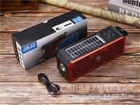 JZ131B Outdoor Sports Portable Mini Wireless Bluetooth Speaker Can Be Charged by Solar Energy 4Colors high