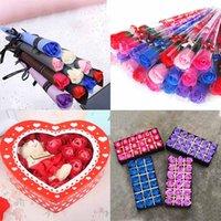 Sıcak Satış Gül Sabun Çiçek Anneler Günü Hediyesi Tek Tanabata Sevgililer Günü Hediyesi Kız Arkadaşı Doğum Günü Sabun Çiçeği Için