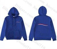 Erkek Hoodies Kazak Fermuar Hoodie Beyzbol Tişörtü Moda Stil Sonbahar Kış Yeni Çift Hoodie Rahat Kapüşonlu Ceketler Mont 9 Renkler