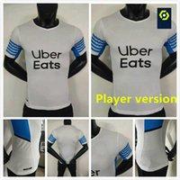 لاعب نسخة مرسيليا لكرة القدم جيرسي أولمبيك دي 21 22 أم 2021 2022 ميلوت القدم المأكولات Thauvin Benedetto Kamara Payet Shirts Men Kit