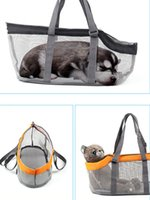 Panoramic Breathable Carrier Bag Pet Dog Cat Carry Handbag Travel Tote Pouch Portable Foldable Suitable for Puppy Kitten