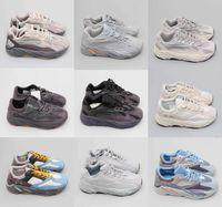 عاكس 700 كاني غرب رجل مصمم أحذية تيل بلو الصلبة رمادي فائدة سوداء فانتا رونينغ أحذية الرجال النساء ثابت B75571 الأحذية الرياضية