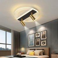 Lampada da camera da letto creativa Semplice e moderno Camera da letto principale Camera da letto a LED Lampada da soffitto Design nordico con illuminazione a spot