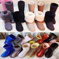 2021 Горячая распродажа классический дизайн WGG женские снежные сапоги короткие мини-колена высокие 58155825 мода женщин зима и сохраняют теплый ботинок австралийской меховой пушистые пушистые пинетки 34-45