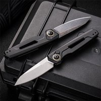 Speical offer Folding Knife Catshow 7550 Launch Steel CPM 154 Aviation Aluminum Alloy Handle Outdoor Hunting Camping EDC Pocket Tool Gift