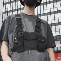 Pack Nylon Tactical Vest Hand Harness Walkie-talkie XY5b Radio Chest Rig Outdoor Security Rescue Pouch Bag Duty Rrftv