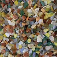 200g contas de pedra caídas e granel sortido gemstone rock minerais de pedra de cristal para chakra cura ágata natural para dezembro 541 R2