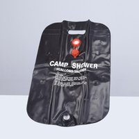 20L Pieghevole da campeggio all'aperto aderenza solare sacchetto doccia riscaldato da viaggio escursionismo arrampicata in pvc sacchetto d'acqua