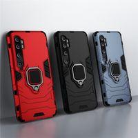 Shockproof Armor Cases For Xiaomi Mi CC9 CC9e Case Ring Holder Stand Phone Back Cover For Xiomi Mi CC9 Pro CC9e CC 9E Funda Capa