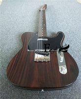 Águila. Mariposa, guitarra eléctrica, barras eléctricas, tienda personalizada, guitarra de tele eléctrica personalizada, cuerpo de guitarra de madera rosa, cuello.