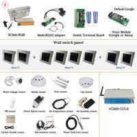 32 Canal Ethernet WiFi Relay Controller Home DIY KC868-COLB Itfff Logical Voice App para WAN e LAN sem internet