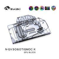 BYKSKI Water Block Verwendung für Gigabyte RTX 3060 TI GAMING OC 8G GPU-Karte / Full Cover Kupfer Kühlerblock