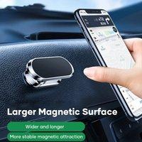 حامل الهاتف المغناطيسي حامل الهاتف الذكي 12 برو ماكس جدار معدني مغناطيس GPS سيارة جبل لوحة