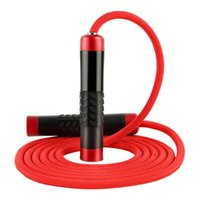 Прыгайте веревки подшипника, пропуская веревочка металлическая подружка для фитнеса