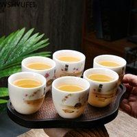 Set da tè in porcellana in ceramica in ceramica cinese WSHYUFEI Set da tè maschile