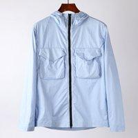 Topstoney para hombre chaqueta cortavientos Sudadera Casual Abrigo Casual Letters Zipper Cyberpunk Aire Libre Streetwear Streetwear 3 Colores Tamaño M-2XL