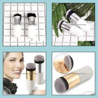 Hand Tools Home & Gardenchubby Pier Foundation Brush Flat Cream Makeup Brushes Professional Cosmetic Make-Up Portable Bb Flats Owf9690 Drop