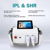 SHR + IPL إزالة آلة صالون salon elight elight معالجة الشعر دائم معدات التجميل