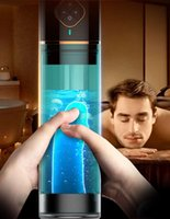 حمام توسيع الكهربائية الذكور الاستمناء كأس الهواء فراغ مضخة القضيب موسع مع المياه سبا الجنس لعب للرجال