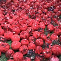 5-6 cm Kristal Top Doğal Şifa Taş Moda Aksesuarlar Sanat Döndürmek Taban Kadın Adam Yuvarlak Kırmızı Kristaller Topları Ofis 29YG K2
