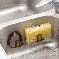 Küchenauction Tasse Waschbecken Abflussregal Schwamm Lagerhalter Regal Seife Abtropfer Racks Badezimmer Zubehör Organizer NHB7607