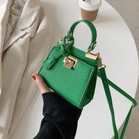 Evening Bags Mini Square Crossbody Bag 2021 Spring High-quality PU Leather Women's Designer Handbag Shoulder Messenger