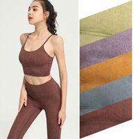 Designer Tanks lulu women camisole Shaping bra lu Suspenders underwear Women's tank Quick-drying Camisoles Fitness sports running tops sexy No rims