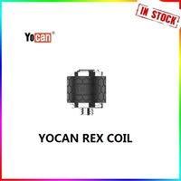 Authentic Yocan Rex Enail Replacement Coil Head QTC Quartz Triple Coils Pancake Atomizer Core for Wax Concentrat Dab Vape Device Kit 100% Original In stock