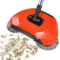 Limpiadores de aspiradora Máquina de barrido Tipo de empuje Hand Magic Broom Dustpan Manija Paquete de limpieza de hogar Sweeper Mop